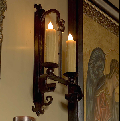 Luminare Gothic Old World Wall Sconce