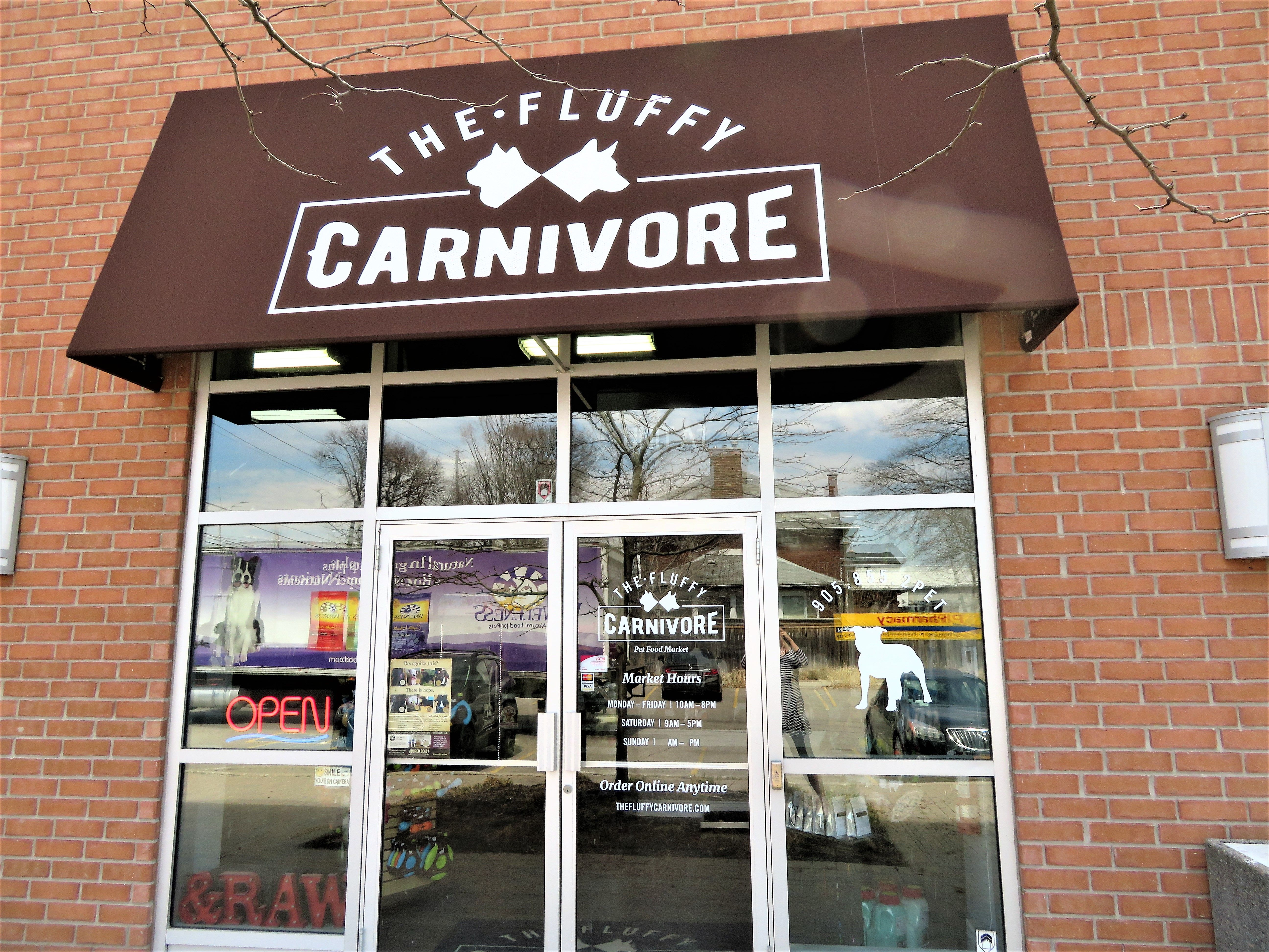 The Fluffy Carnivore Pet Food Market Provides A Range Of Raw Pet Foods We Are Excited To Offer Our Products In Mississau Raw Pet Food Food Market Food Animals