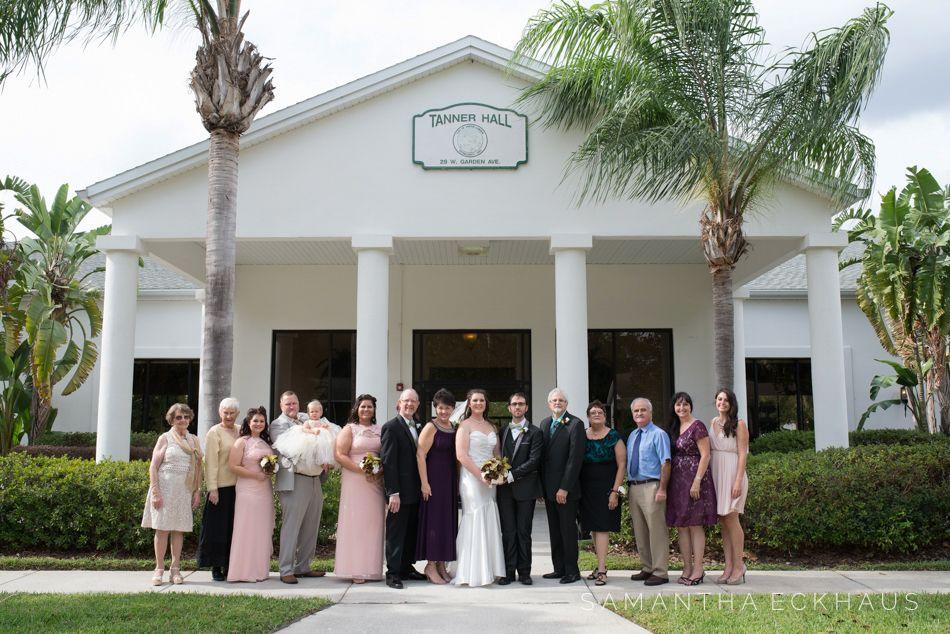 Sara Chris Tanner Hall Wedding In Winter Garden Winter Garden