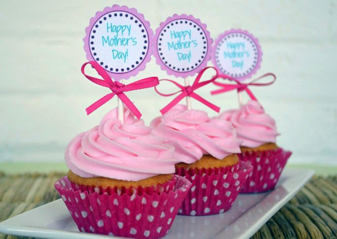 Happy Mother S Day Cupcakes Recipe With Images Mothers Day