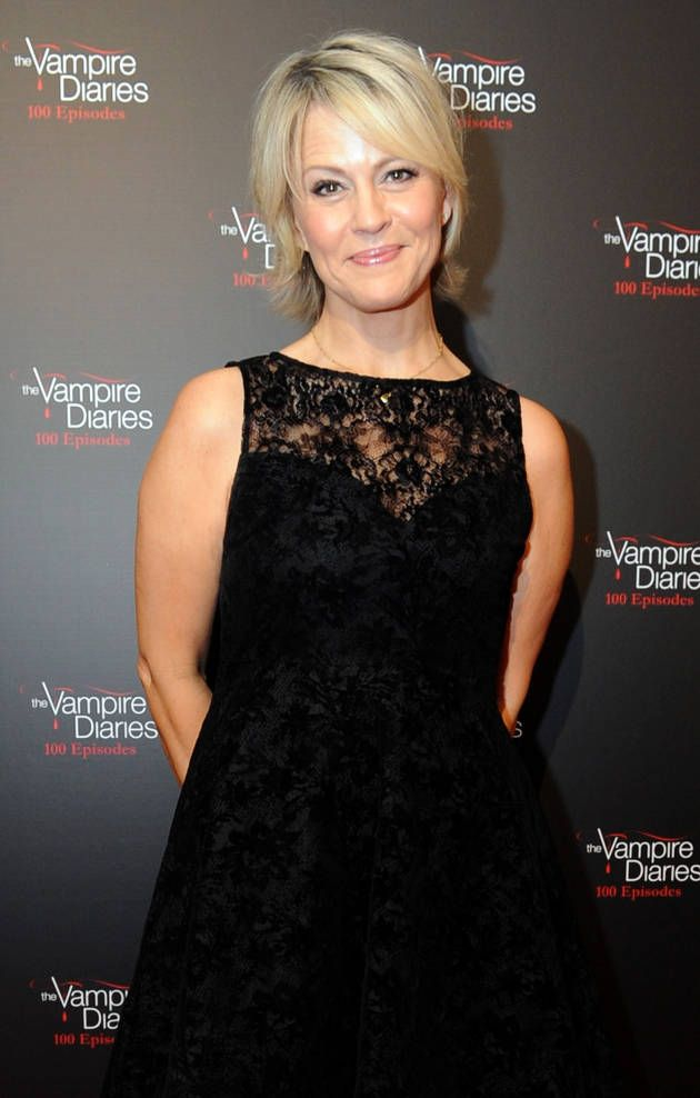 Marguerite MacIntyre at The Vampire Diaries 100th Episode Celebration
