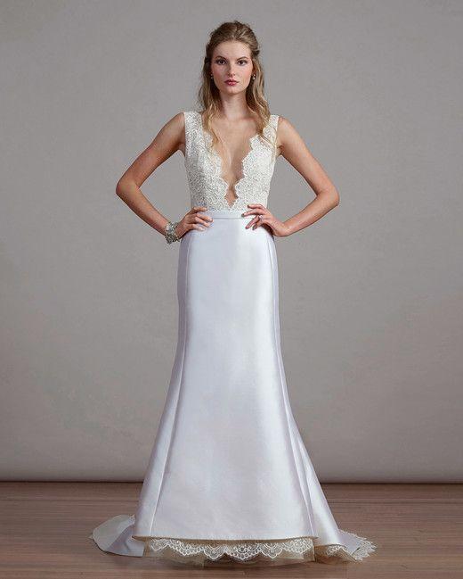Liancarlo 6894 Wedding Dresses V Neck Wedding Dress Designer Wedding Gowns