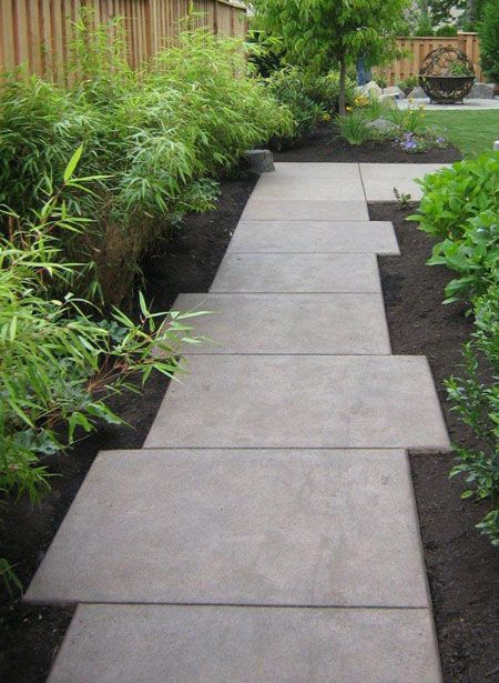side of house | Side yard landscaping, Side garden, Garden ... on Side Yard Walkway Ideas  id=19643
