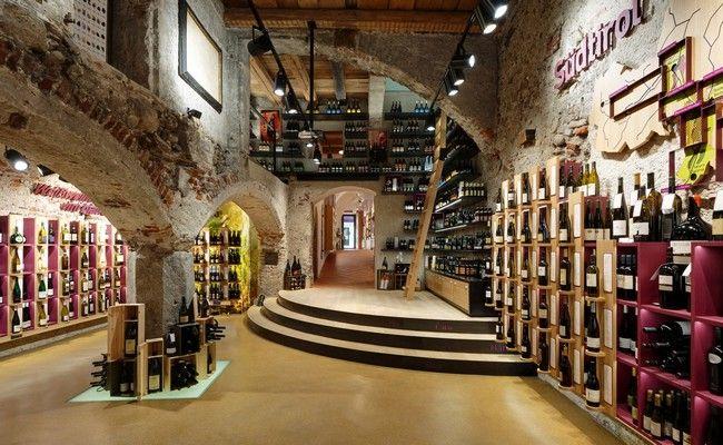 Drink Shop Harpf, Drink Shop Harpf Bruneck, Drink Shop Harpf Monovolume Architecture + Design, Monovolume Architecture + Design - http://architectism.com/drink-shop-harpf-by-monovolume-architecture-design/