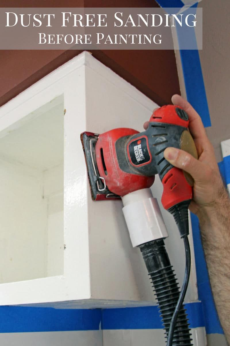 Dust Free Sanding Before Painting Diy Home Improvement Sanding Tips Rooms Home Decor