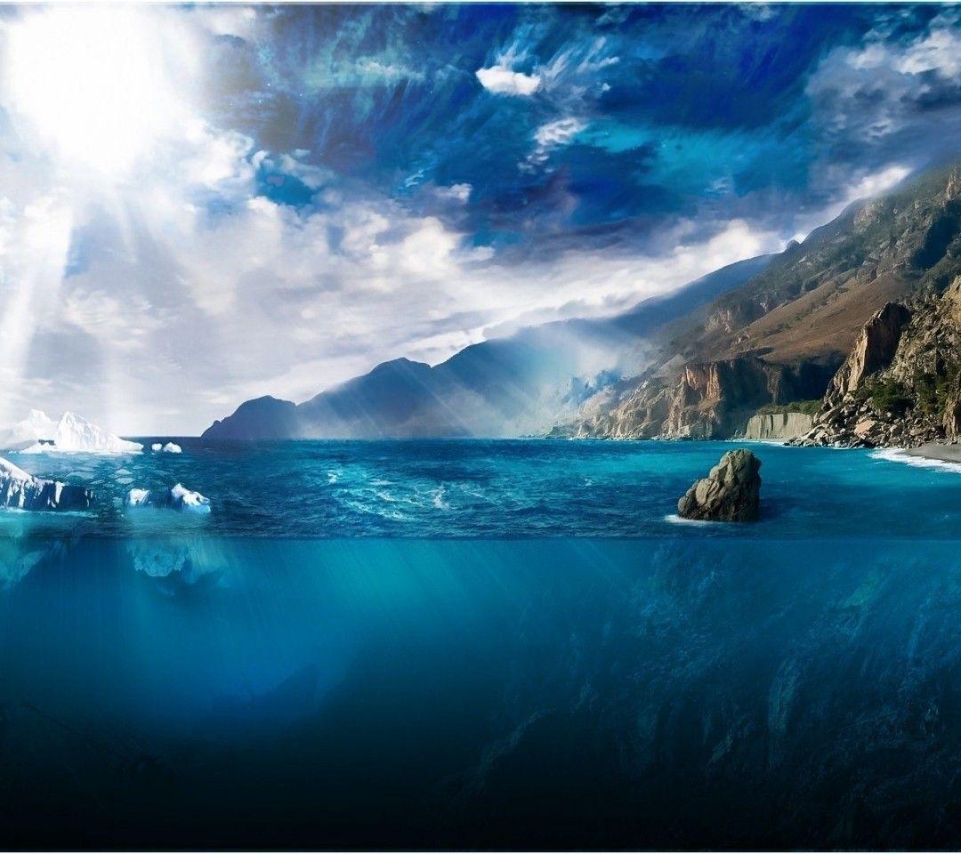 大自然圖片 光圖像 壁紙陽光 海水尺量圖 浮冰照片 深度 梁背景 水圖片 剪裁 海洋素材背景1080x960 大自然背景 Background Images Valley Landscape