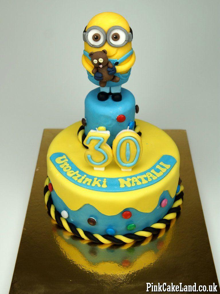 Minions Birthday Cake London Httppinkcakeland