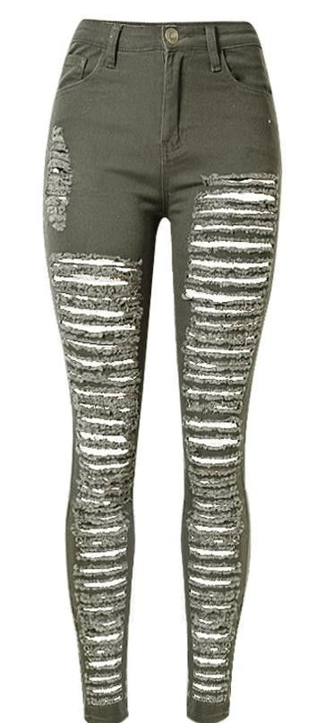 60f14c2466 Ripped Holes Star Print 9/10 BF Loose Straight Jeans | ☢ post ...