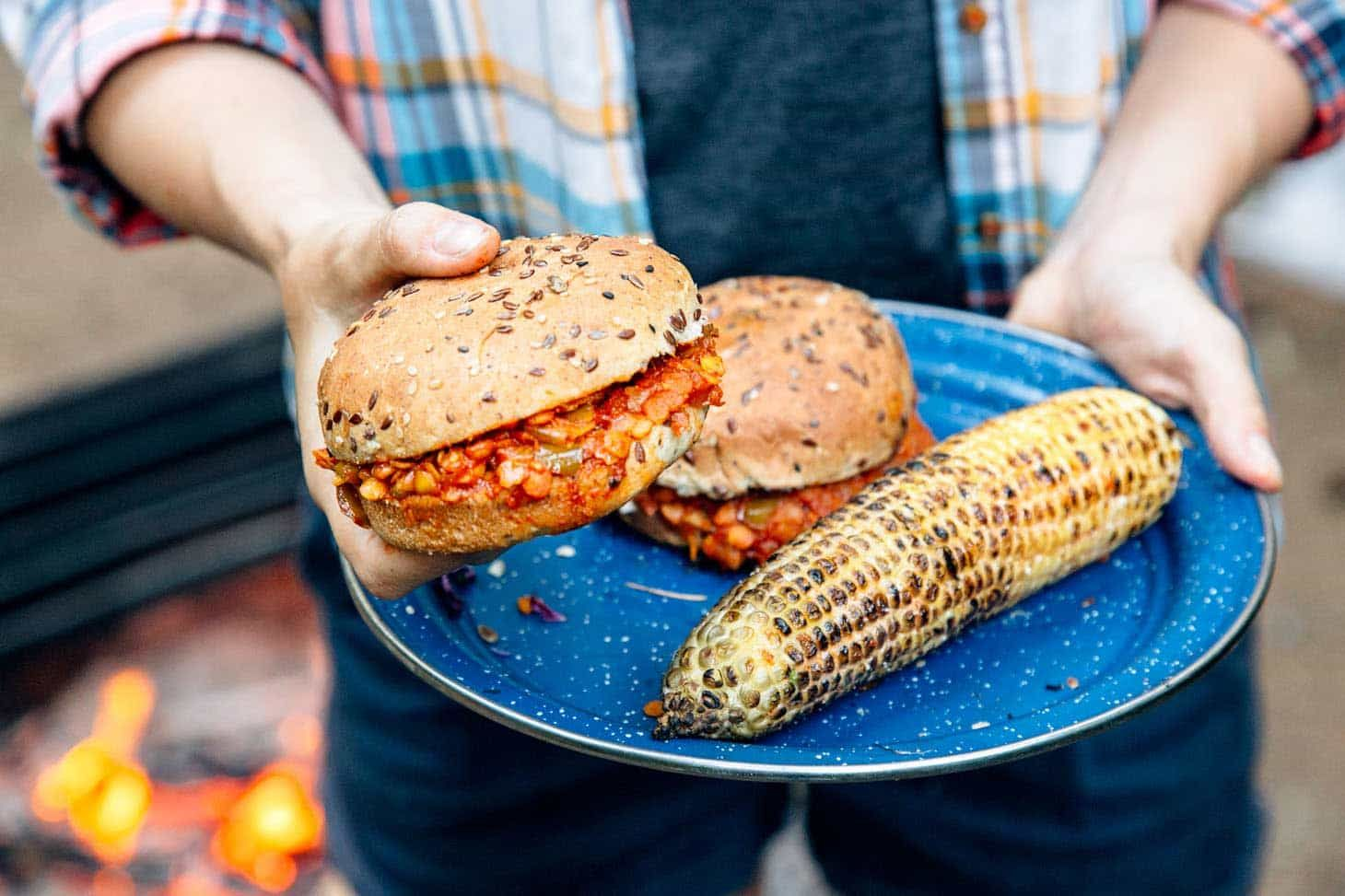 Red lentil sloppy joes recipe sloppy joe plant based and lentils a plant based approach to a classic camping recipe make these easy one forumfinder Gallery