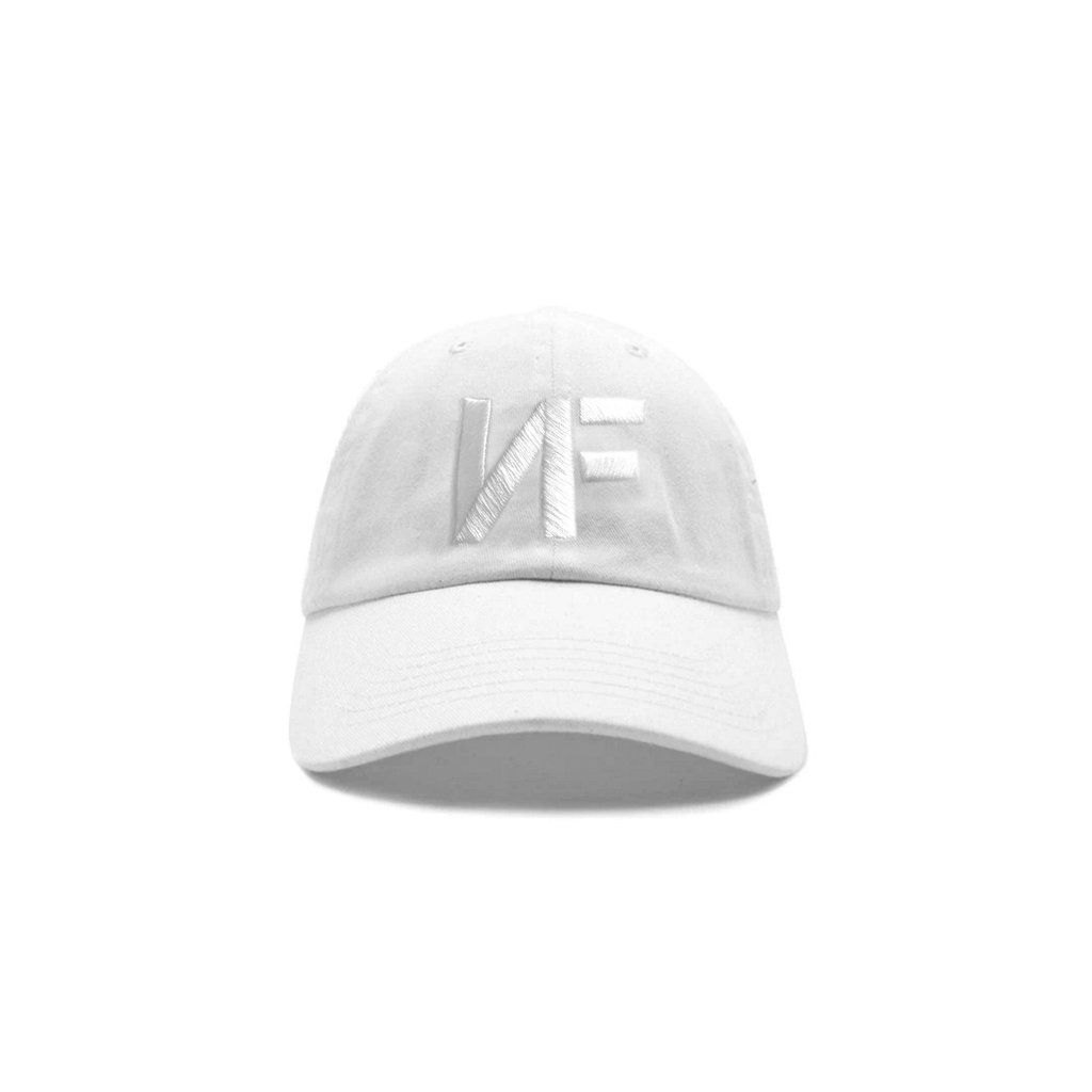 White NF Logo Dad Hat  2c75bc0646c