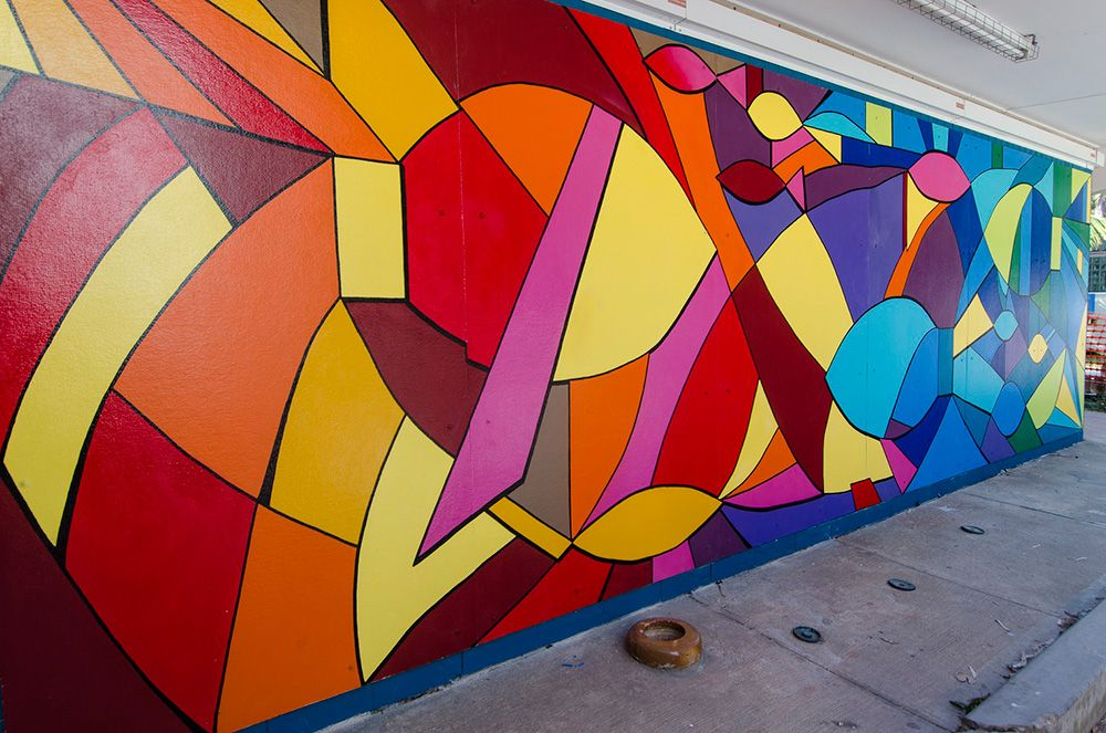 abstract murals in schools - Google Search | Murals and ...