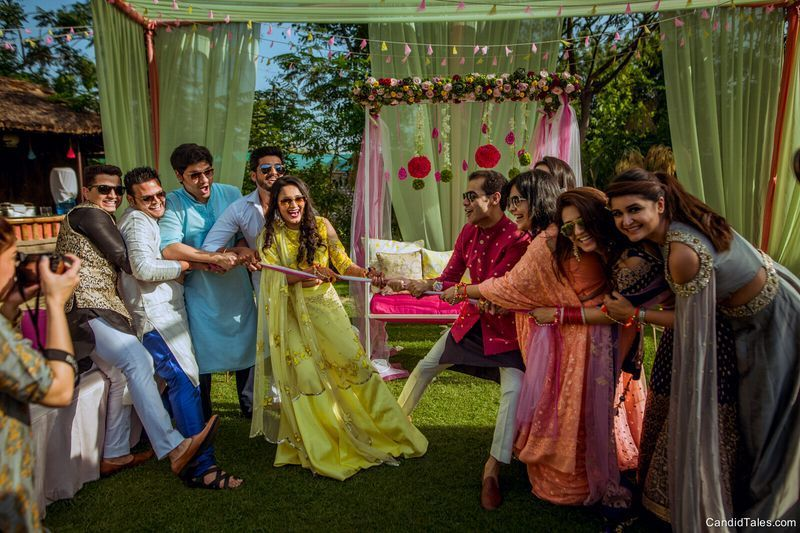 Fun Activities & Games To Do On Your Mehendi Day! | Indian wedding ...
