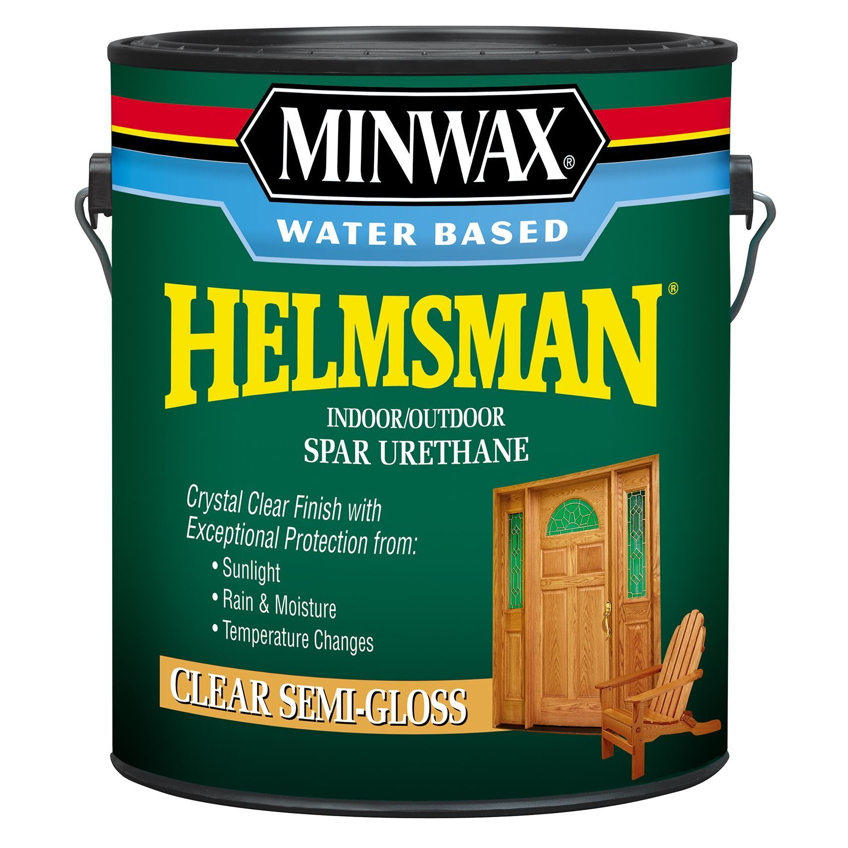 Minwax 71051 1 Gallon Semi Gloss Minwax Water Based Spar Urethane