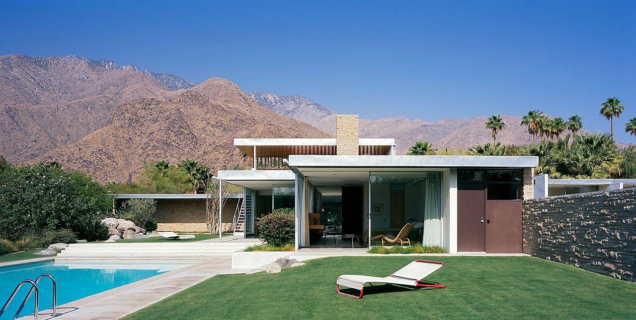 1946 The Kaufmann Desert House Architect Richard Neutra