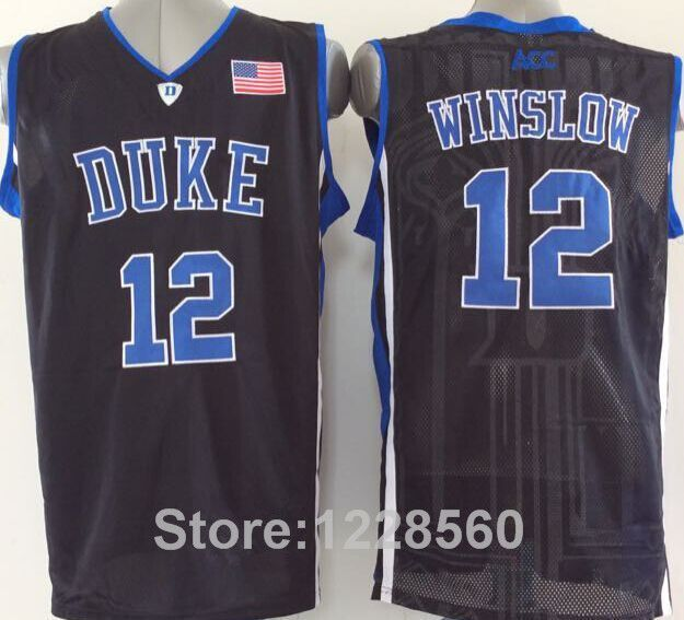 e28ad495b ... White Alternate Swingman Jersey 2015 Traded 12 Justise Winslow Jersey  Duke Blue Devils Basketball Jerseys Miami 20 Justise Winslow Shirt Mens Heat  ...
