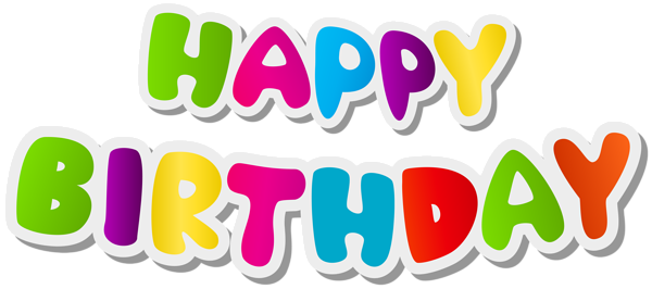 happy birthday text png clip art image sewing aplq how to rh pinterest com happy wednesday clipart free happy wednesday morning clipart