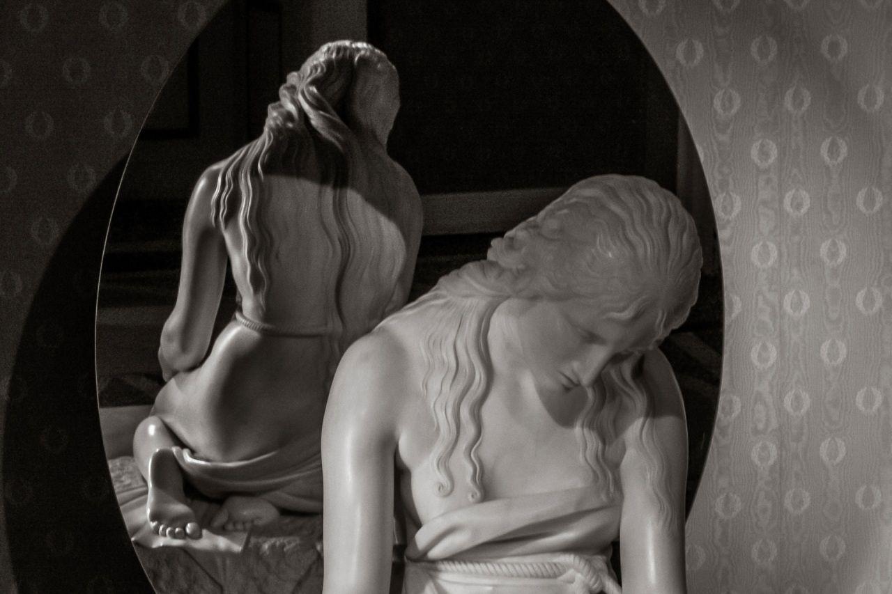 Maddalena penitente del Canova Lago di Como Villa Carlotta