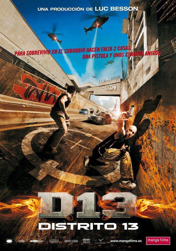 Distrito 13 District 13 Martial Arts Movies Movies