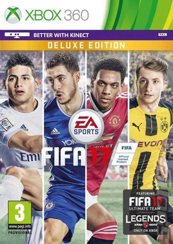 Fifa 17 Deluxe Edition Xbox 360 Pre Order Early Delivery Fifa 17 Fifa 17 Ultimate Team Fifa 17 Ps4