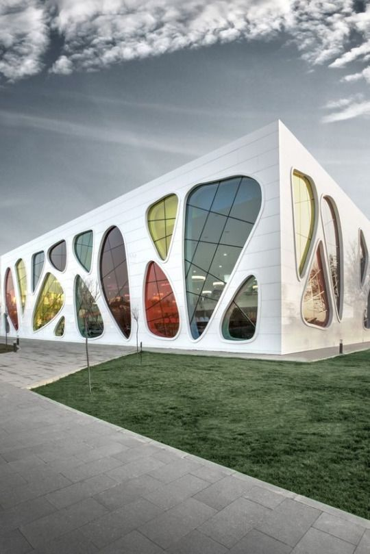 Kayseri Ice Ring by Bahadir Kul Architects