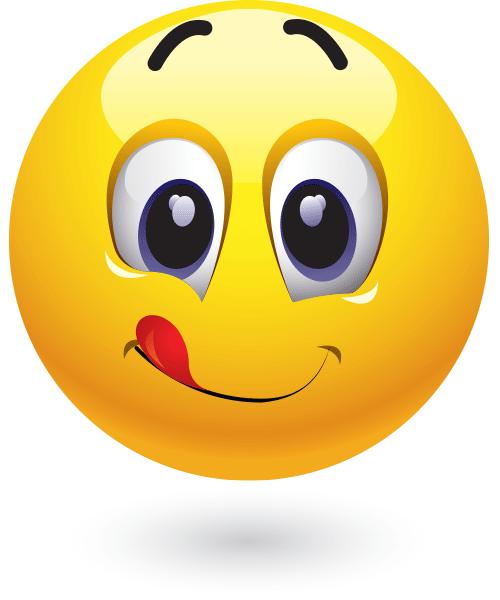 Licks Lips Emojis And Smileys Smiley Emoji Emoji Smiley
