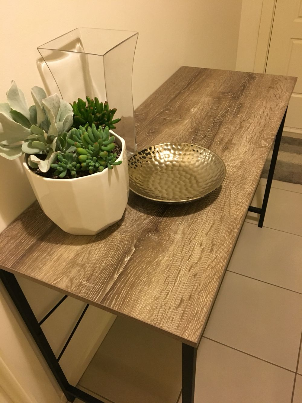 Kmart Foyer Table : Kmart industrial side table home things pinterest