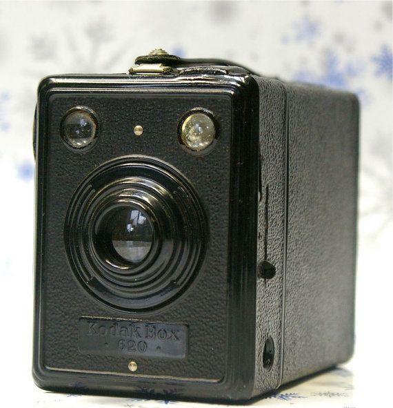 Vintage German Kodak Box 620 Camera 19391940 by CanemahStudios, $42.00