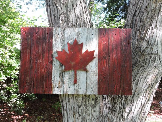 3d Distressed Canadian Flag Canada Flag Maple Leaf Rustic - rustic home decor canada