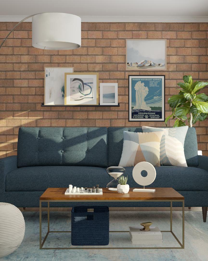Interior Design Online: Industrial Livingroom, Online