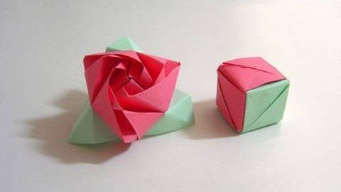In the words of Gertrude Stein, a rose is a rose is a magic paper cube. And with this paper folder's guide, you'll learn how to make your very own magic rose cube from folded paper using the Japanese art of origami. To get started making your own origami rose cubes, watch this free video lesson.