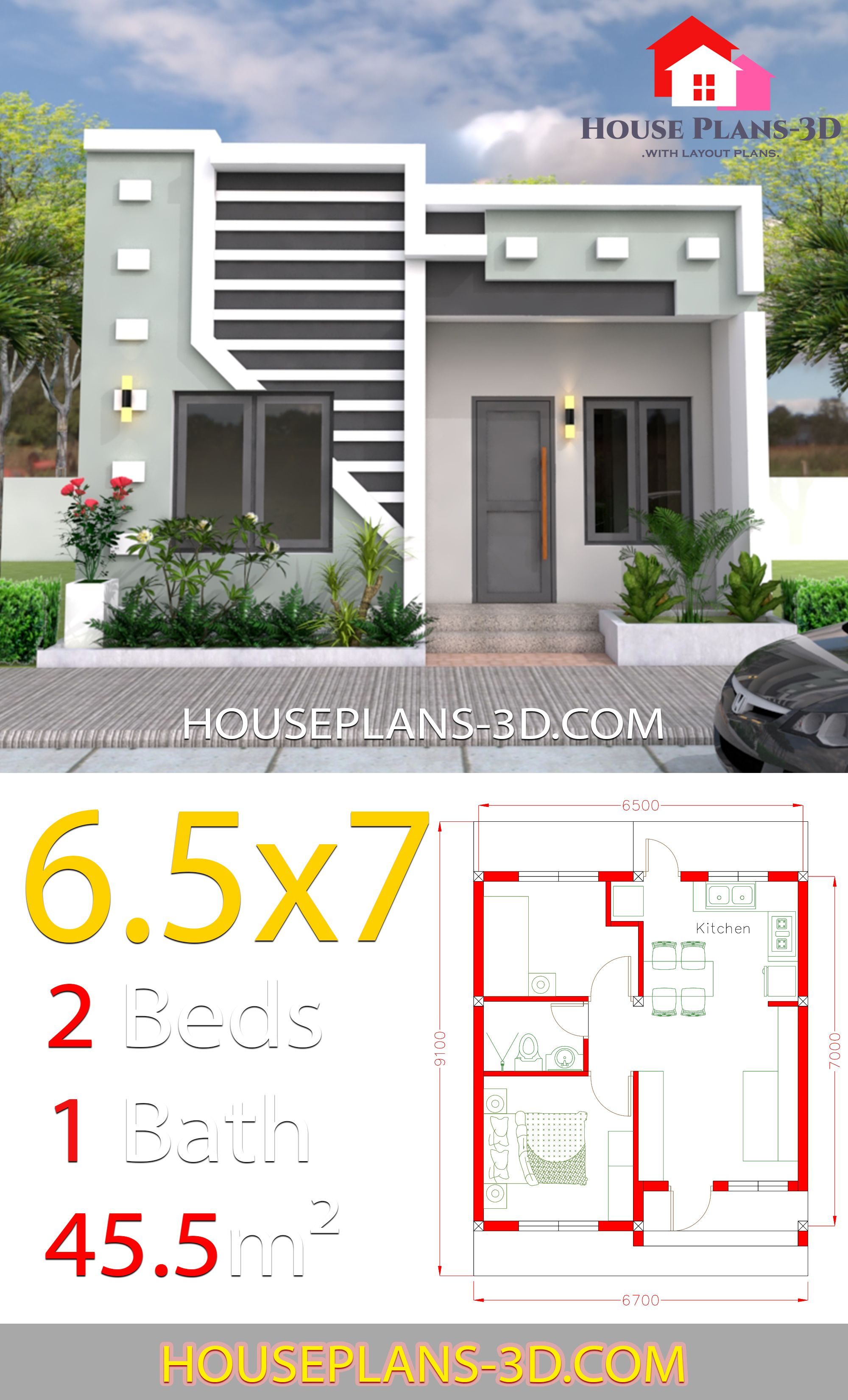 Small House Design 6.5x7 with 2 Bedrooms full plans in 2019 ... on top 10 small house plans, american small house plans, small craftsman house plans, stunning small house plans, special small house plans, exceptional small house plans, school small house plans, small guest house floor plans, country house plans, unique small house plans, narrow lot house plans, modern farm house floor plans, comfortable small house plans, best small house plans, drawing small house plans, angle 3 car garage house plans, classic small house plans, ross chapin small house plans,