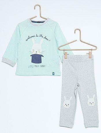 a3e7bccb69643 Ensemble pyjama 2 pièces hérisson Bébé garçon - Kiabi