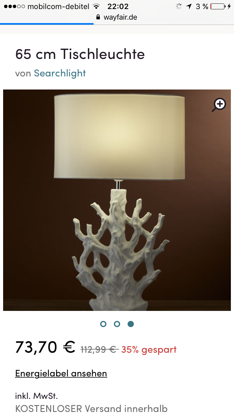 Koralle Lampe Leuchte | interior | Pinterest | Korallen Lampe und Lampen