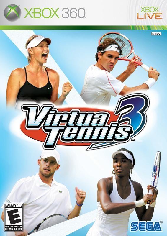 Virtua Tennis 3 Xbox 360 Xbox 360 Xbox Game Sales
