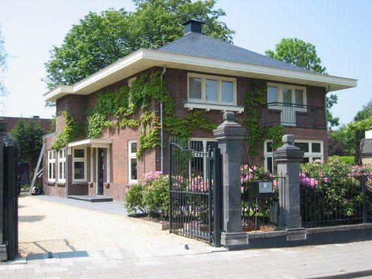 H.w. van der laan b.v. verbouw woonhuis kantoor herenweg vinkeveen