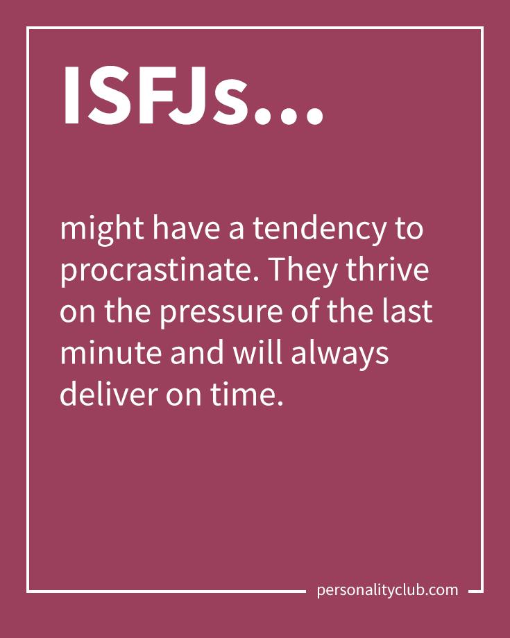 ISFJ – THE NURTURER