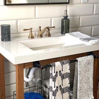 Photo of OUR MAIN FLOOR BATHROOM DISCOVERY – CLARK + ALDINE