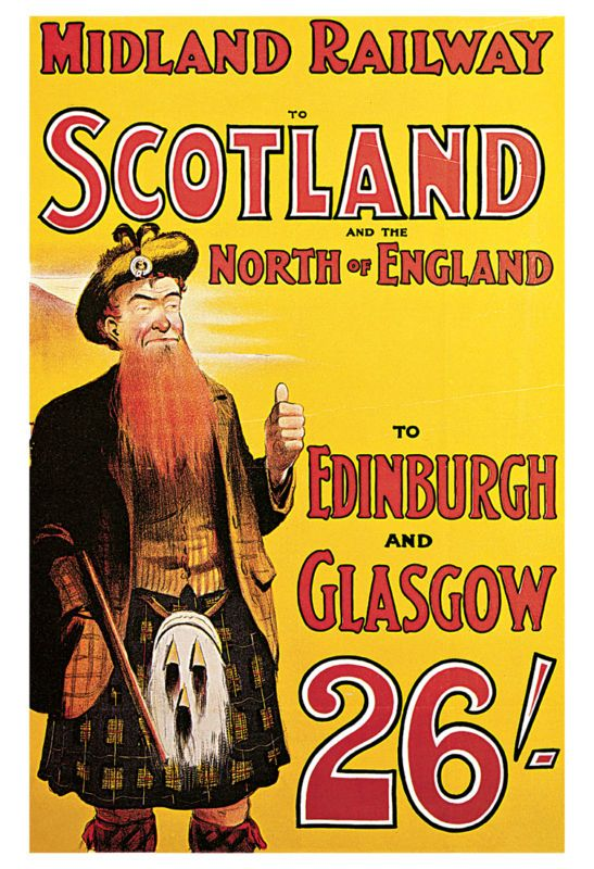 Scotland..vintage travel poster  #vintage #travel #poster