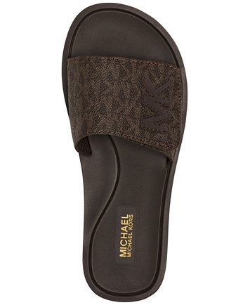 6b7a9e4c9e45 MICHAEL Michael Kors MK Shower Slide Sandals
