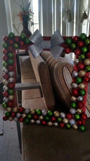 Christmas photo booth frame cHRISTMAS DISPLAY IDEA 2017