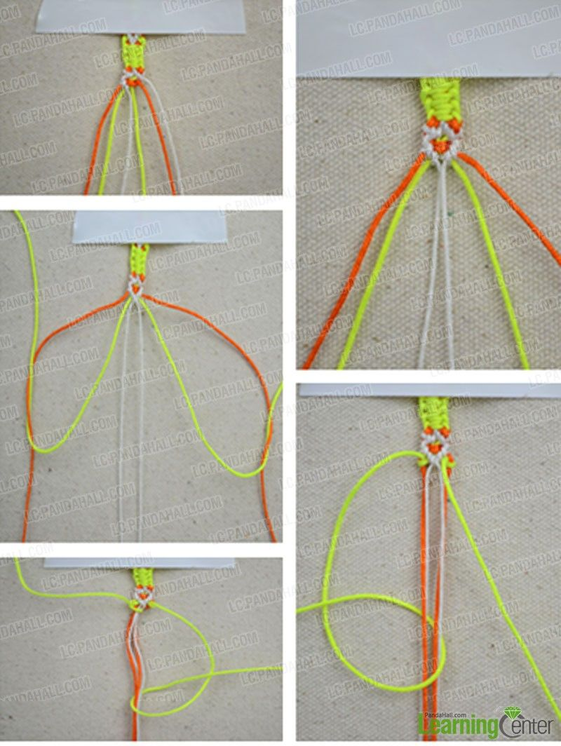 How to make friendship bracelets out of 3 strings