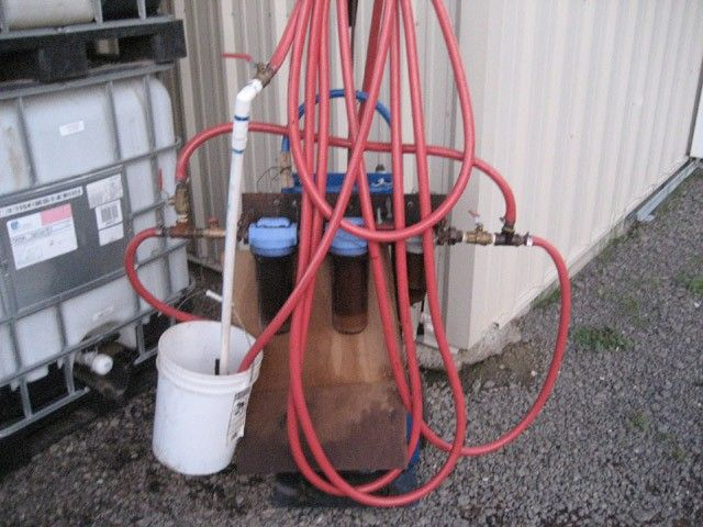 Waste Oil Filtration System By Darrylmueller Homemade