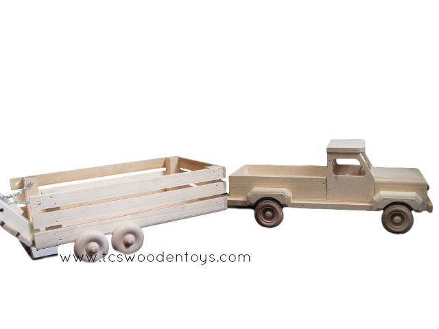 Farming Fun For All Grab This Truck And Trailer Gift Set While You Can Haul Your Livestock Cattle Sheep Bulls Goats A With Images Wooden Toys Toys Toy Pickup Trucks