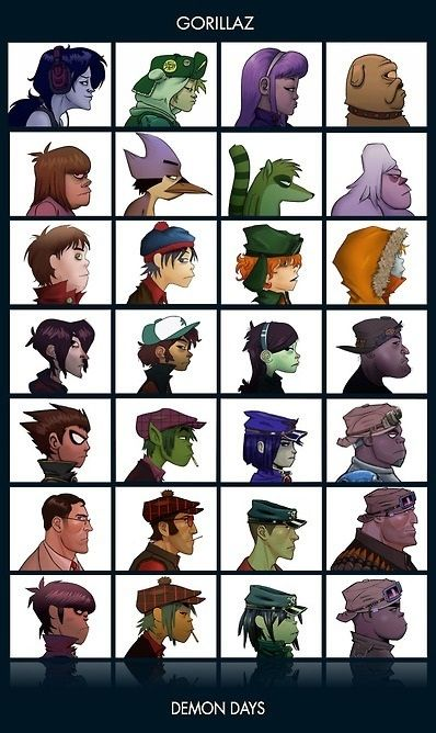 Pin By Cody On L Pinterest Gorillaz Music And Gorillaz Art