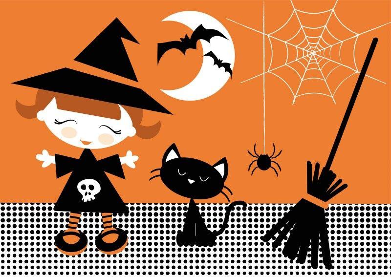CUTE HALLOWEEN TABLET WALLPAPER Halloween illustration