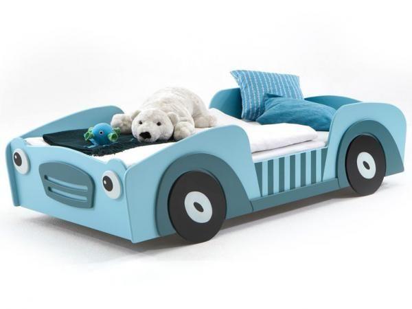 Kinderbett auto grün  FMD Auto-Bett BUGSY | Kid's stuff | Pinterest | Kinderzimmer ...