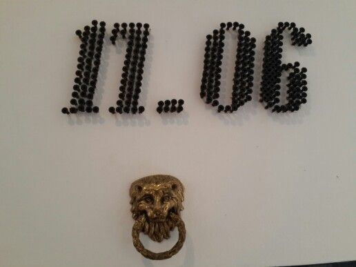 Made from screws