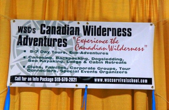 Wilderness School billboard
