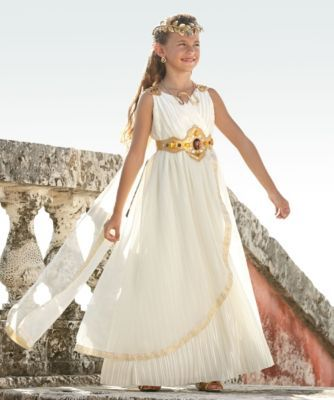 grecian goddess girls costume - Only at Chasing Fireflies - For centuries your beauty has inspired poets and sculptors.