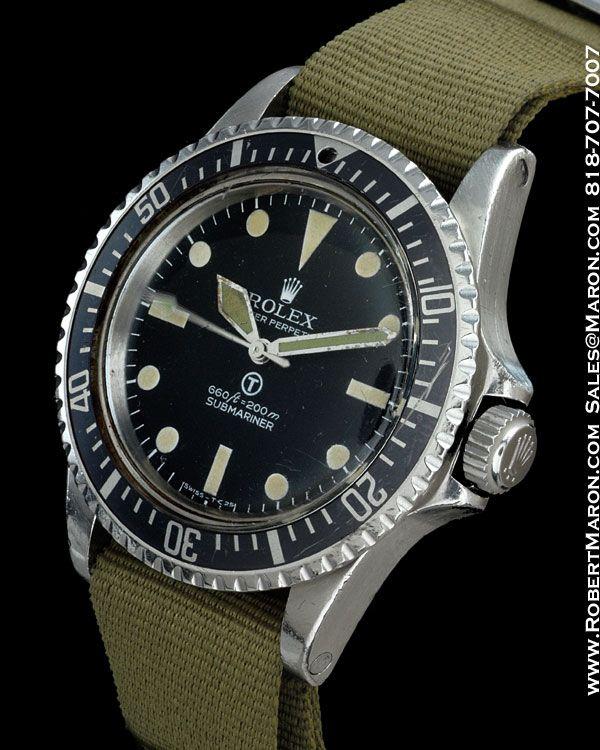 Rolex 5513 Submariner Military